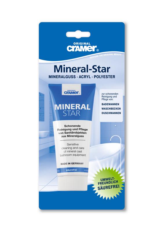 Mineralguss im Sanitärbereich hygienisch sauber reinigen