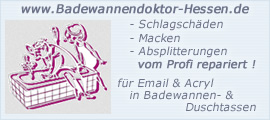 Badewannendoktor aus Hessen